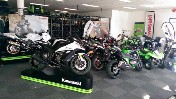 Cửa hàng Kawasaki  được ủy nhiệm