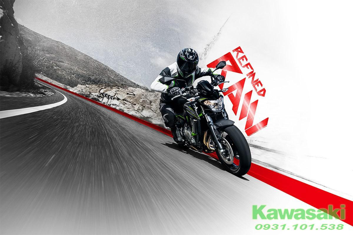Hình Kawasaki ngoại cảnh