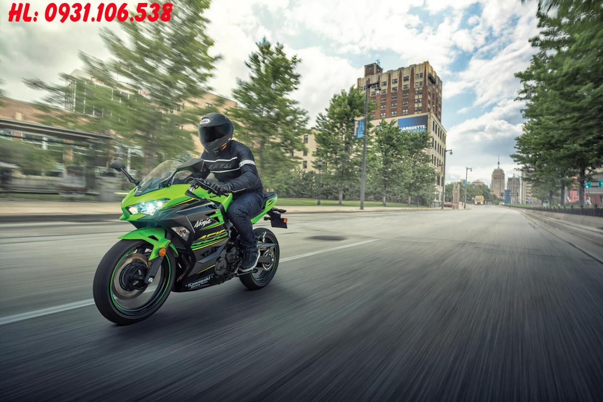 Kawasaki Ninja 400 nhập khẩu  ủy nhiệm