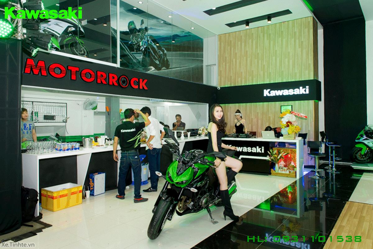 đạil lý Kawasaki  Motocyclesrrock Chính hãng  chỗ ở Bếbn Thành