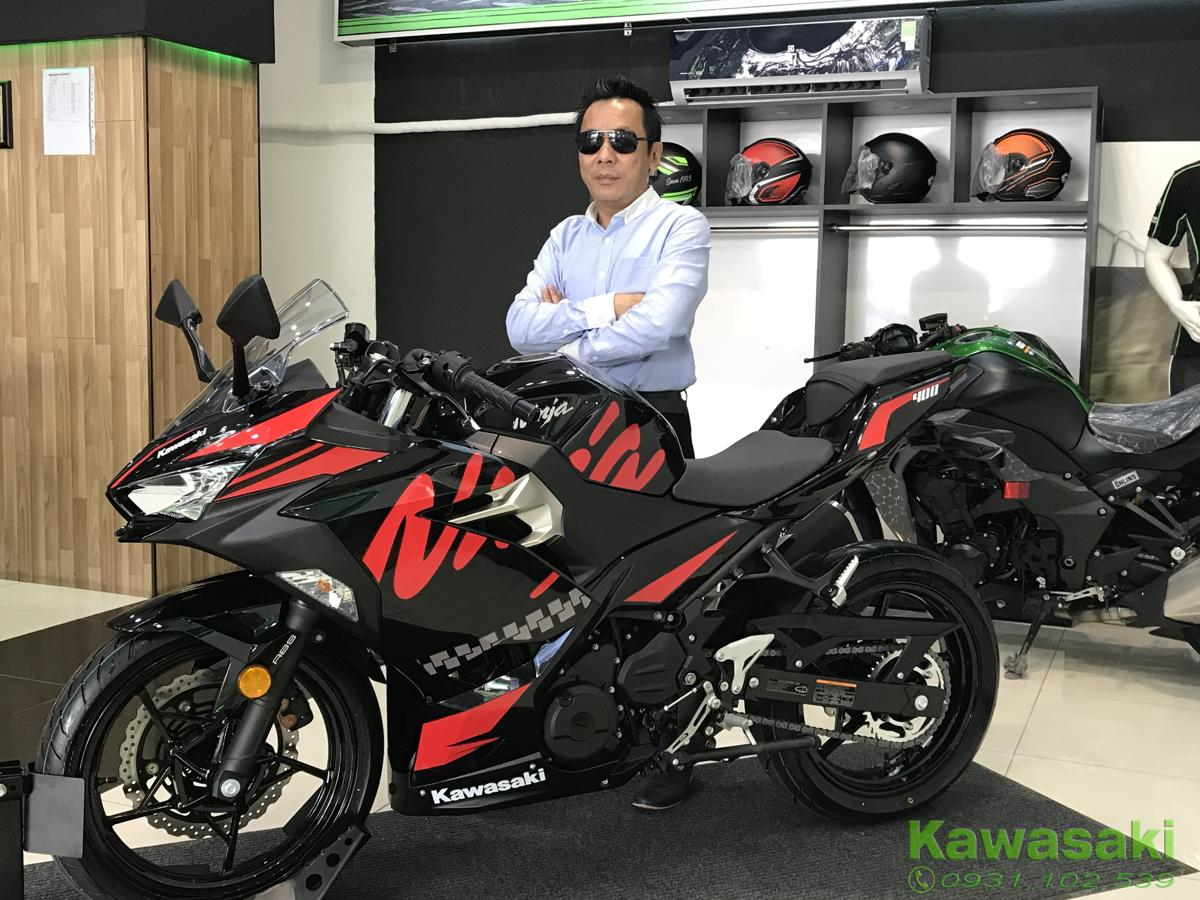 showroom Kawasaki Sai gon