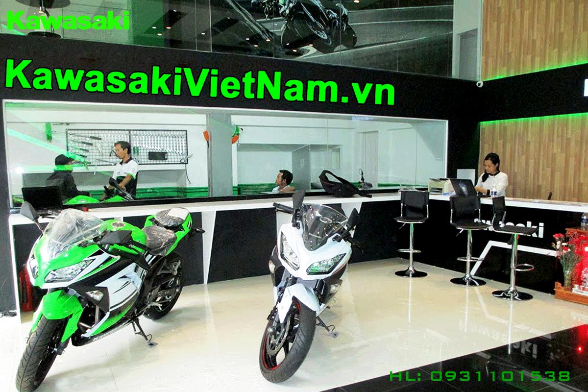 showroom Kawasaki Sai Gòn