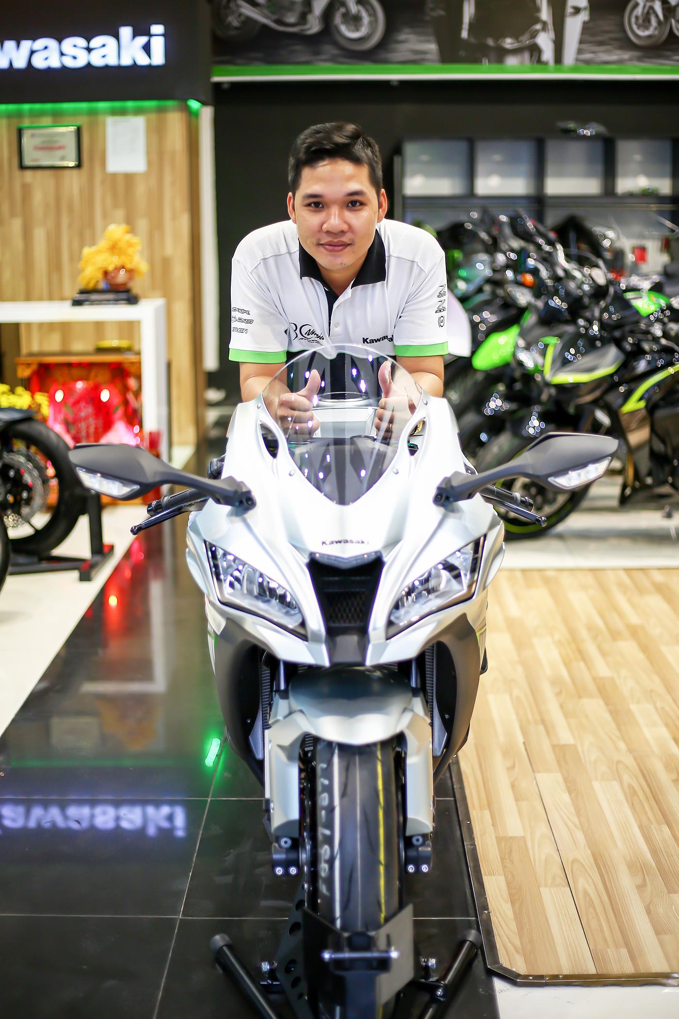 Showroom Kawasaki Motorrock Quận 1 HCM